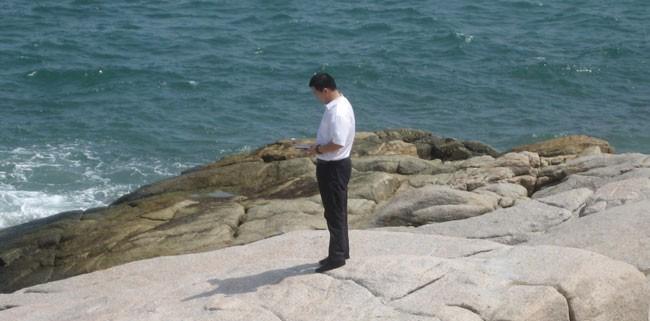 董易奇老师新加坡民丹岛风水布局